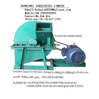 cruhser for wood waste/wood chips/blocks