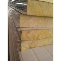 High quality low cost glass wool sandwich panel
