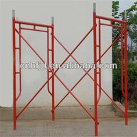 scaffolding frame the dance props, steel h scaffolding frame