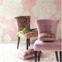 Winter Flowers Pink JY-P-W07 Bisazza Flower Pattern Iridescent Pink Glass Mosaic Bedroom Wall Tiles thumbnail image