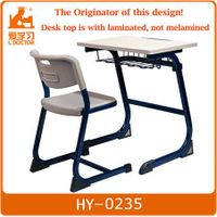 Reading School Desk and Chair Classroom Furniture
