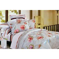 China supplier high quality reasonable price various types polyester bed sheet fabric thumbnail image