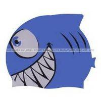 Swimming cartoon cap / Fish cap- FC01/ silicone