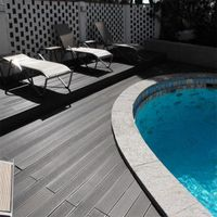 Anti-UV Extruded Plastic Composite Decking WPC Composite Board thumbnail image
