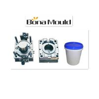 Plastic paint pail mould