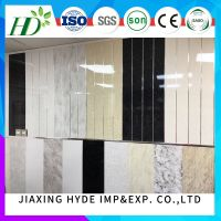 home decoration PVC Ceiling Wall Paneling PVC Panels for interior