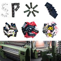 Custom high quality cheap woven label for clothing thumbnail image