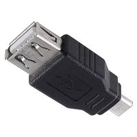 USB 2.0 Adapter USB2.0 Type A Female to Micro B Male thumbnail image