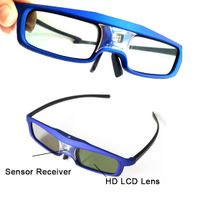 DLP Projector Shutter 3D Glass TV Side by Side 3D Glasses