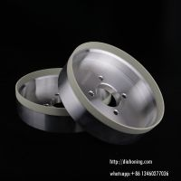PCD grinding wheels, vitrified bonded diamond cup wheels for PCD Inserts