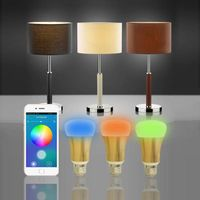 led lights bulbs led desk lamp bluetooth led speaker with calls two way talk