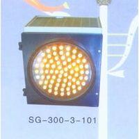 solar traffic and signal light