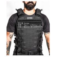 0.6MM Black Hypalon Fabric for Tactical Vest thumbnail image