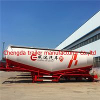 New 40CBM /45CBM 3AXLE truck trailer for powder and particle transportation cement trailer thumbnail image