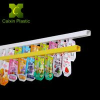 PVC Display Tube, PVC Guide Rail for Spouted Pouch, Plastic Conduit,