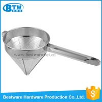 Stainless Steel Funnel China Cap Strainer