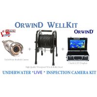 ORWIND WellKit Borehole Camera Kit Underwater Monitoring System Rotating Endoscope Deep Hole Camera