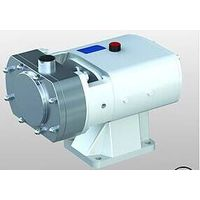 Stainless steel sanitary lobe pump with heat jacket thumbnail image