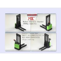 Electric Stacker factory, Microlift brand or OEM, 1000KG Capacity, ES10 Model thumbnail image
