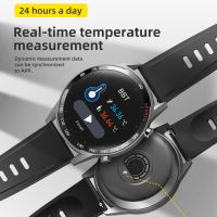 T23 Smart Watch Body Temperature Fitness Tracker Heart Rate Monitor Oxygen Smartwatch thumbnail image