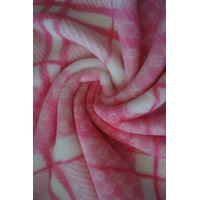 printed coral fleece frabic thumbnail image