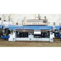 HZM243P 9 Spindle PLC Glass Straight-line Edging Machine