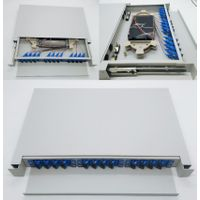 12/24/24/96/144 cores fiber optic ODF terminal box /ftth box with sc/upc pigtail and adapters. thumbnail image