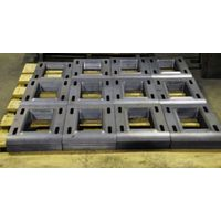 Laser cutting metal parts