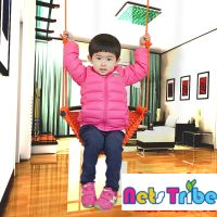 Indoor playground and family fitness toys swing climbing nets