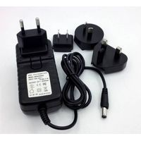 18w 24w multi-angle conversion pin power adapter 12v2a adapter