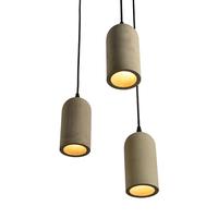 vintage antique concrete pendant lamp cement chandelier & pendant lights
