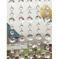 octagon wedding chandelier hanging beaded curtain garland,crystal curtain ,plastic curtain thumbnail image