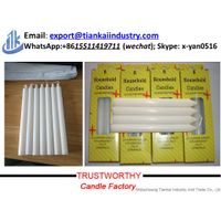 High Quality 100% Cotton Wick Paraffin Wax Candle White thumbnail image