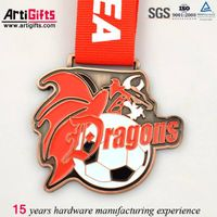 Best quality metal medallion copper customized logo thumbnail image