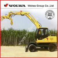 8ton wheel moving sugar crane loader for sale DLS880-9A