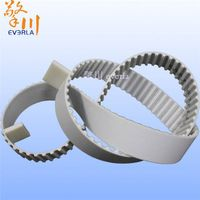 PU polyurethane synchronous belt transmission belt and square stop labeling machine belt