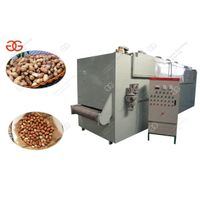 Continuous Peanut|Almond|Sesame Roasting Machine For Sale