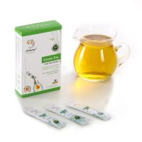 Instant Green Tea Extract Instead of Tea Powder with Organic Certified