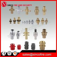 All types of fire hose couplings for fire hose thumbnail image