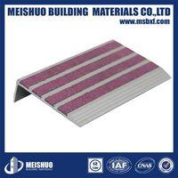 Aluminum anti-slip ceramic tile stair step treads thumbnail image