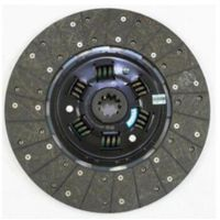 FAW Truck Spare Parts-Clutch Disc-1601210A116
