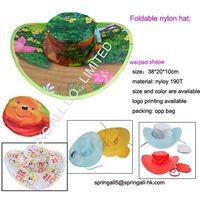 Foldable nylon hat thumbnail image