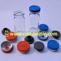 glass bottle for TESTOSTERONE INJ.10ml,with butyl rubber stopper and flip off caps set thumbnail image