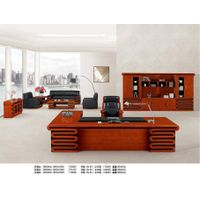 office furniture of executive desk wood file cabinet