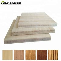 Hot Sales 3 Ply Bamboo Wood for Table Vertical Natural Bamboo Plywood Prices