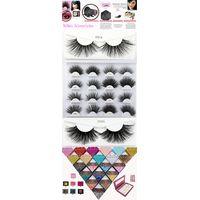 Hot Sales Own Brand Lashes Soft Custom Handmade Box Wholesale Price 3D mink Eyelash
