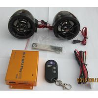 motorcycle accessory  anti-theft digital mp3 player with radio thumbnail image