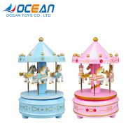 Rotating small horse carousel music gift box for girlfriend thumbnail image