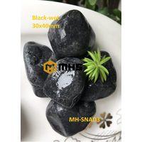 Vietnam Black Tumbled Pebble Stone