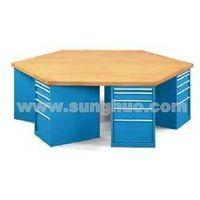 hexagonal workbench